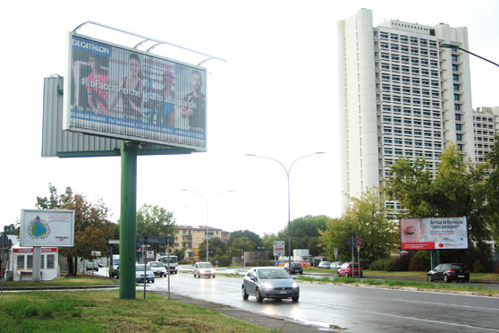 affissioni pubblicitarie poster 6x3 bifacciale