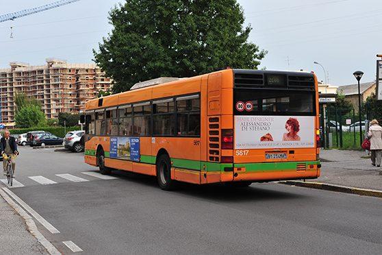 Europemedia Pubblicità Dinamica Bus Decathlon