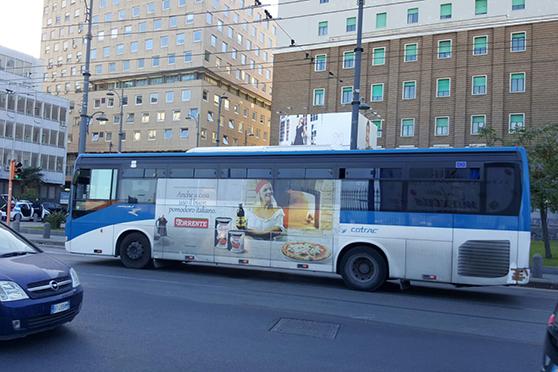 Europe Media Pubblicità sui Bus