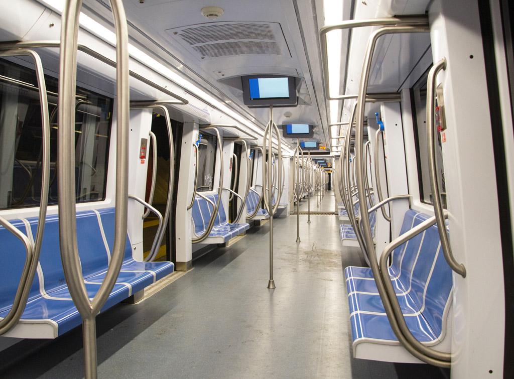 Europe Media video comunicazione all'interno dei vagoni metro