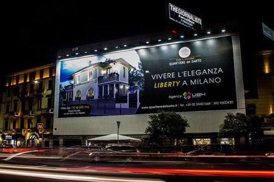 maxi affissioni pubblicitarie milano