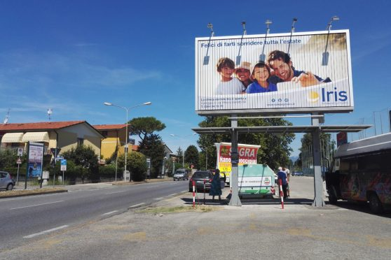 affissioni pubblicitarie poster 6x3