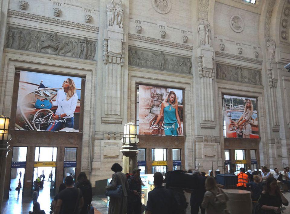 Europe Media Impianti Pubblicitari Area Domination nelle Grandi Stazioni Ferroviarie
