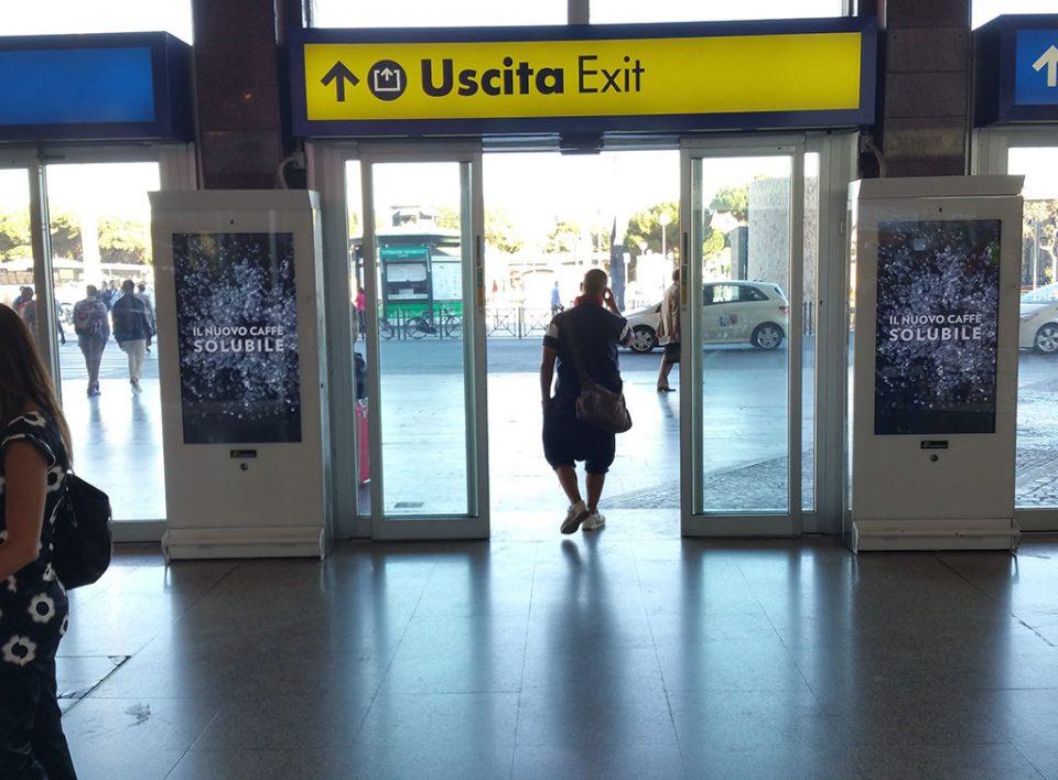 Europe Media Impianti Pubblicitari Mupi nelle Stazioni Ferroviarie