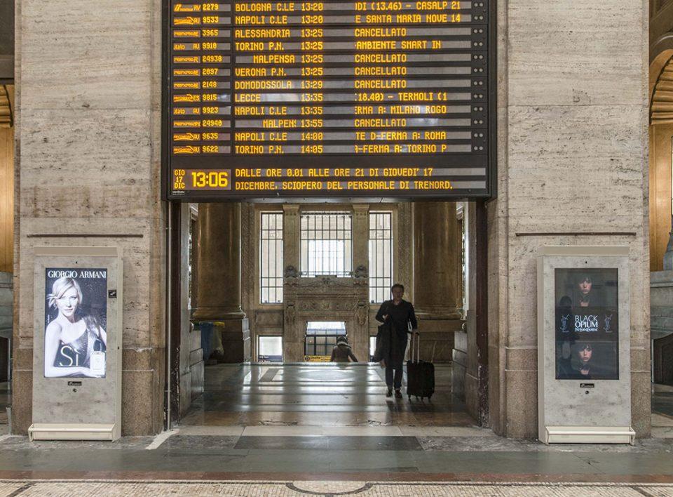 Europe Media Impianti Pubblicitari Digitali nelle Stazioni Ferroviarie