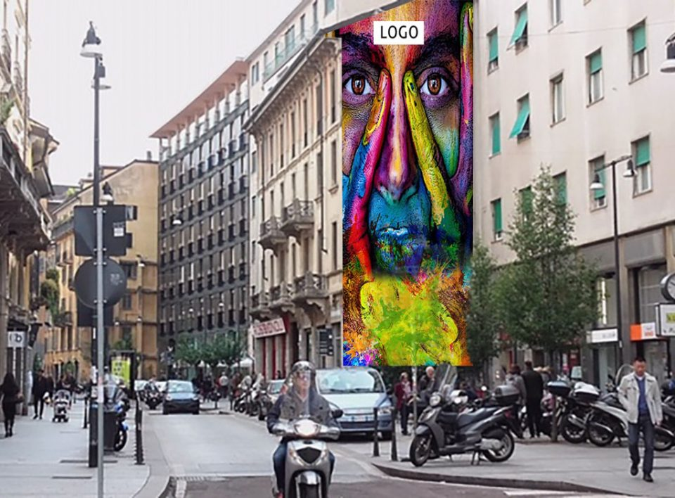 Impianti Pubblicitari Verticali Murales