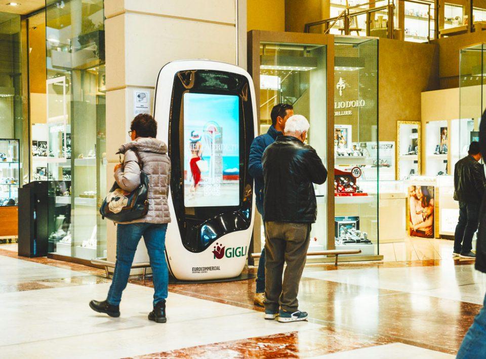 europemedia comunicazione pubblicitaria digitale nei centri commerciali