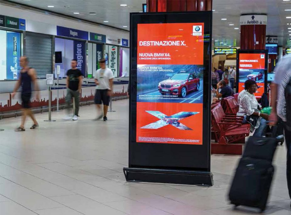 Diginetwork - Pubblicità Aeroporto Marconi Bologna