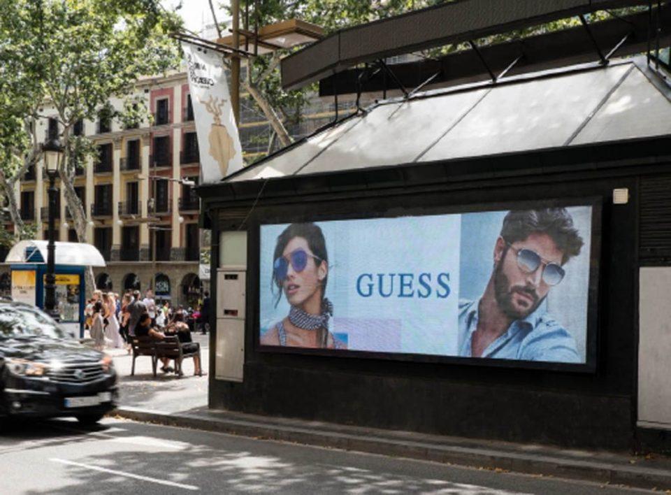 Europe Media Impianti Pubblicitari e Comunicazione Rambla Barcellona Spagna