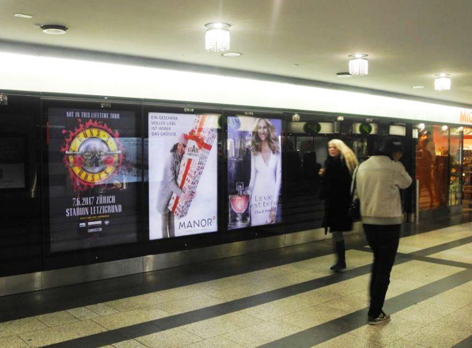 Europe Media Impianti Pubblicitari Digitali Zurigo Svizzera