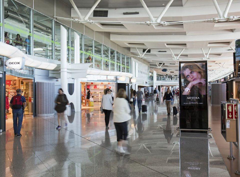 Europe Media Impianti Pubblicitari e Pubblicità Aeroporto Porto Portogallo