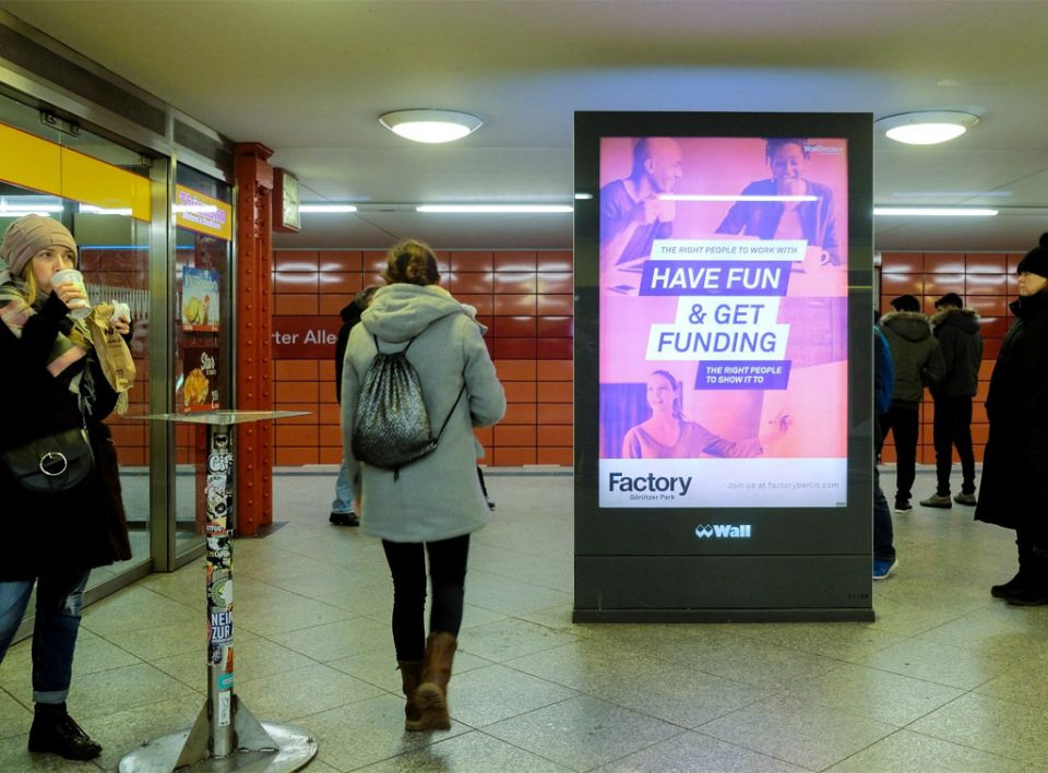 Europe Media Impianti Pubblicitari Citylight FSU in Germania