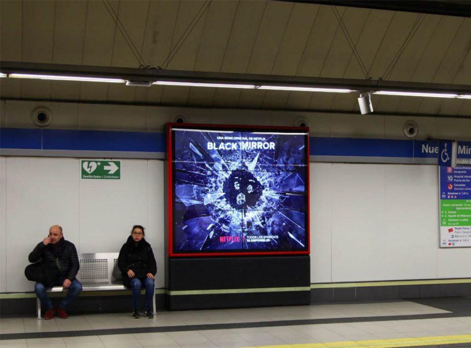 Europe Media Impianti Pubblicitari e Comunicazione Metropolitana Madrid Spagna