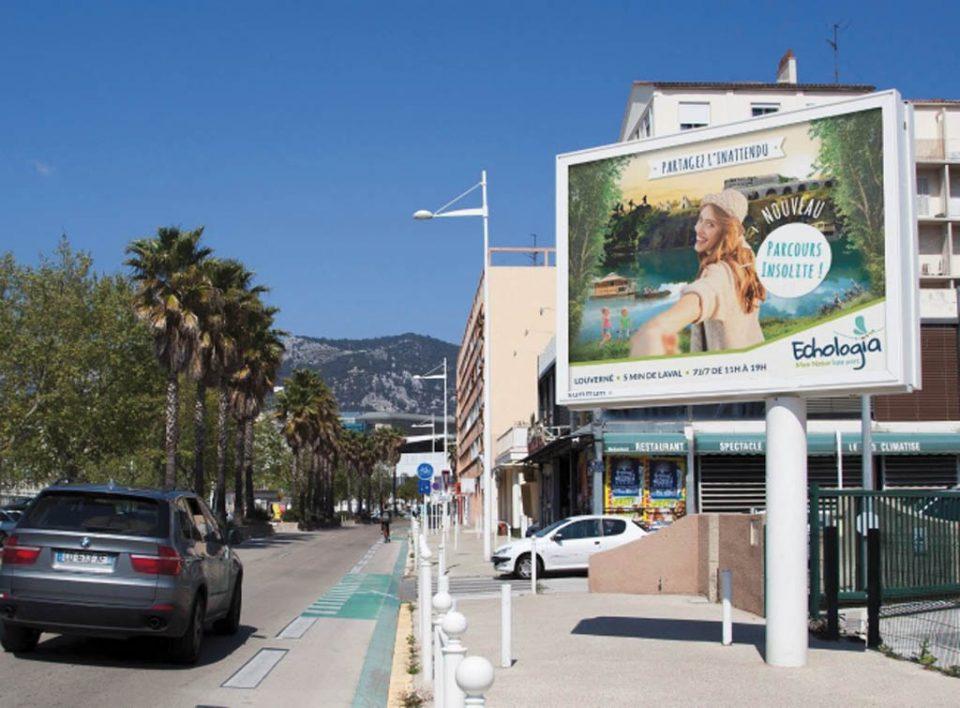 Europe Media pubblicità billboard 8mq Cannes in Francia
