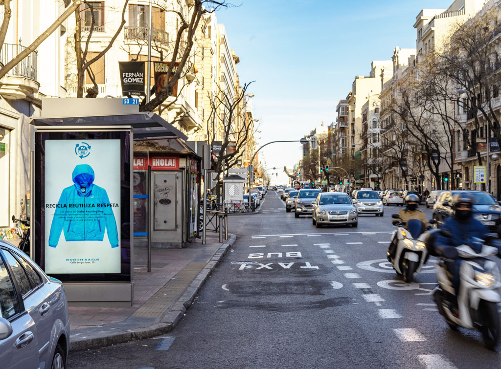Europe Media impianti Pubblicitari Madrid FSU e Pensiline Bus