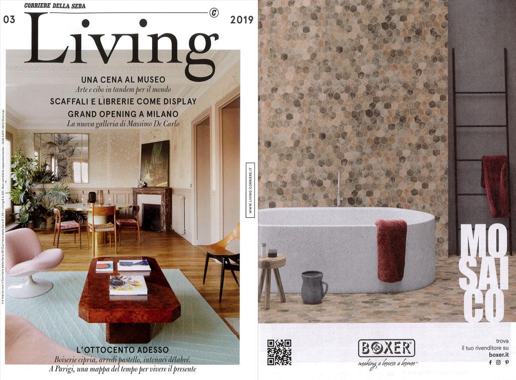 Europe Media pubblicità Magazine Living cliente Boxer marzo 2019