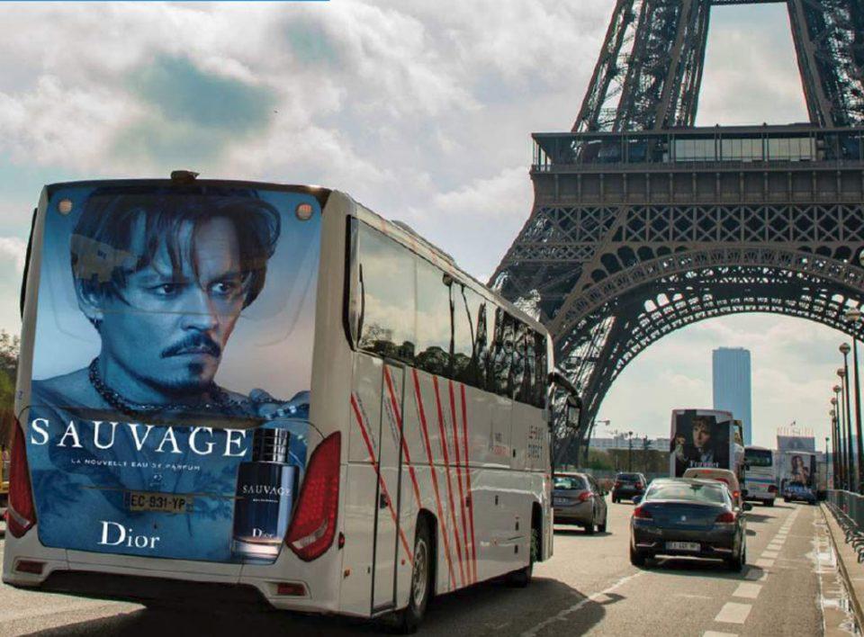 Europe Media impianti pubblicitari a Parigi in Francia