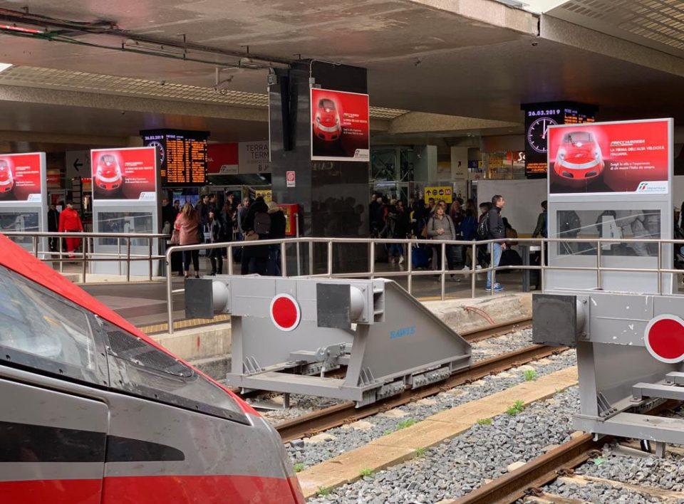 Europe Media Impianti Pubblicitari Schermi Digitali Welcome Stazione Roma Termini