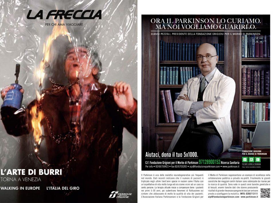 Europe Media Pubblicità sulla rivista La Freccia