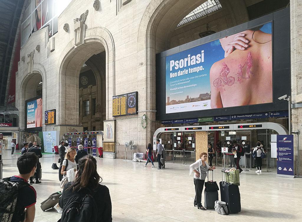 Europe Media Pubblicità nelle Grandi Stazioni Ferroviarie Milano Centrale