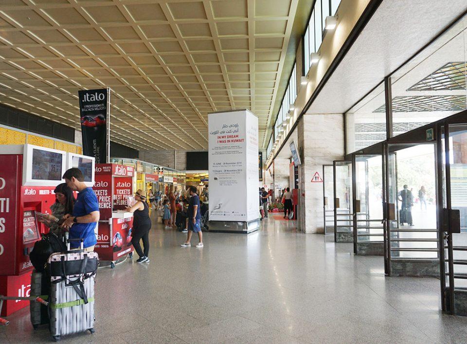 Europe Media Pubblicità nelle Grandi Stazioni Ferroviarie Venezia Santa Lucia