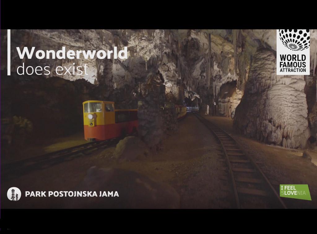 Campagna Pubblicitaria Grandi Stazioni Ferroviarie per Parco Grotte di Postumia