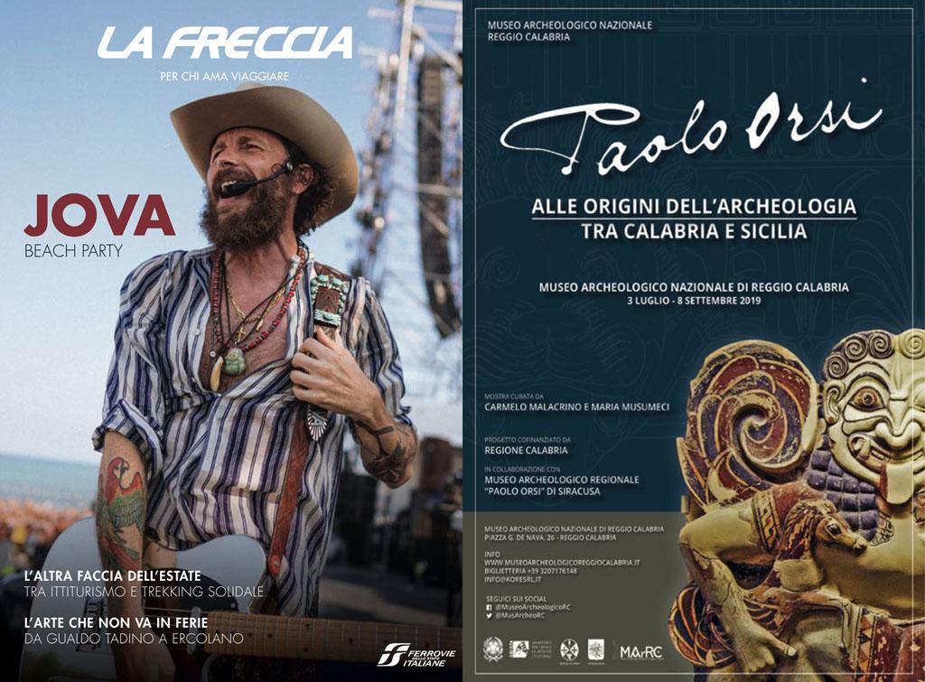 Europe Media Pubblicità Rivista La Freccia per Museo Archeologico Reggio Calabria