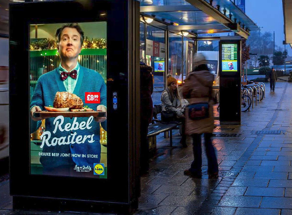 Europe Media Impianti pubblicitari e Londra