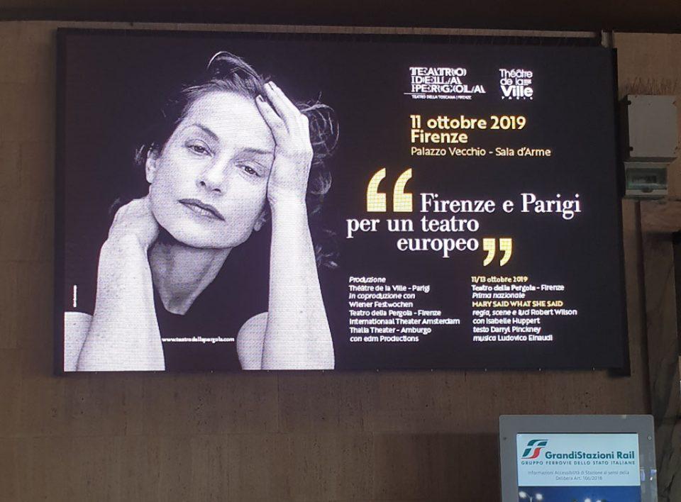 Europe Media pubblicità e impianti pubblicitari nelle grandi stazioni ferroviarie Firenze Santa Maria Novella
