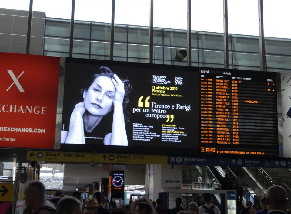 Europe Media pubblicità e impianti pubblicitari nelle grandi stazioni ferroviarie Roma Termini