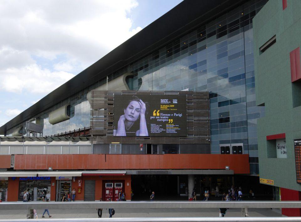 Europe Media pubblicità e impianti pubblicitari nelle grandi stazioni ferroviarie Roma Tiburtina