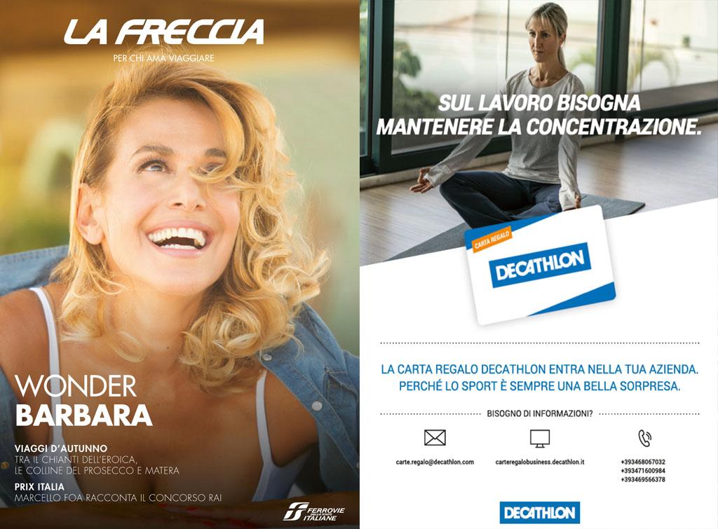 Europe Media pubblicità sul magazine La Freccia