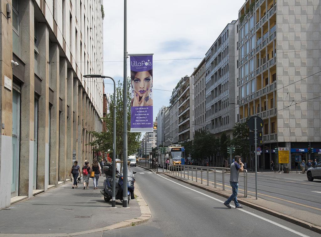 Europe Media Pubblicità e Impianti Pubblicitari Arredo Urbano Gonfaloni