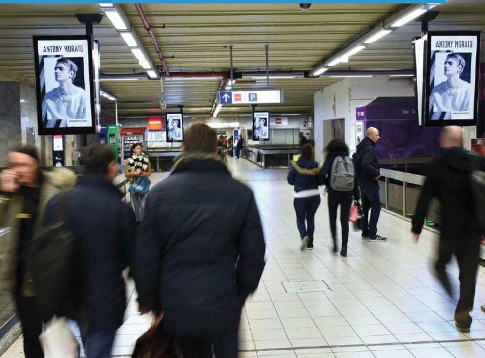 Europe Media Impianti Pubblicitari Digital Bruxelles Metro