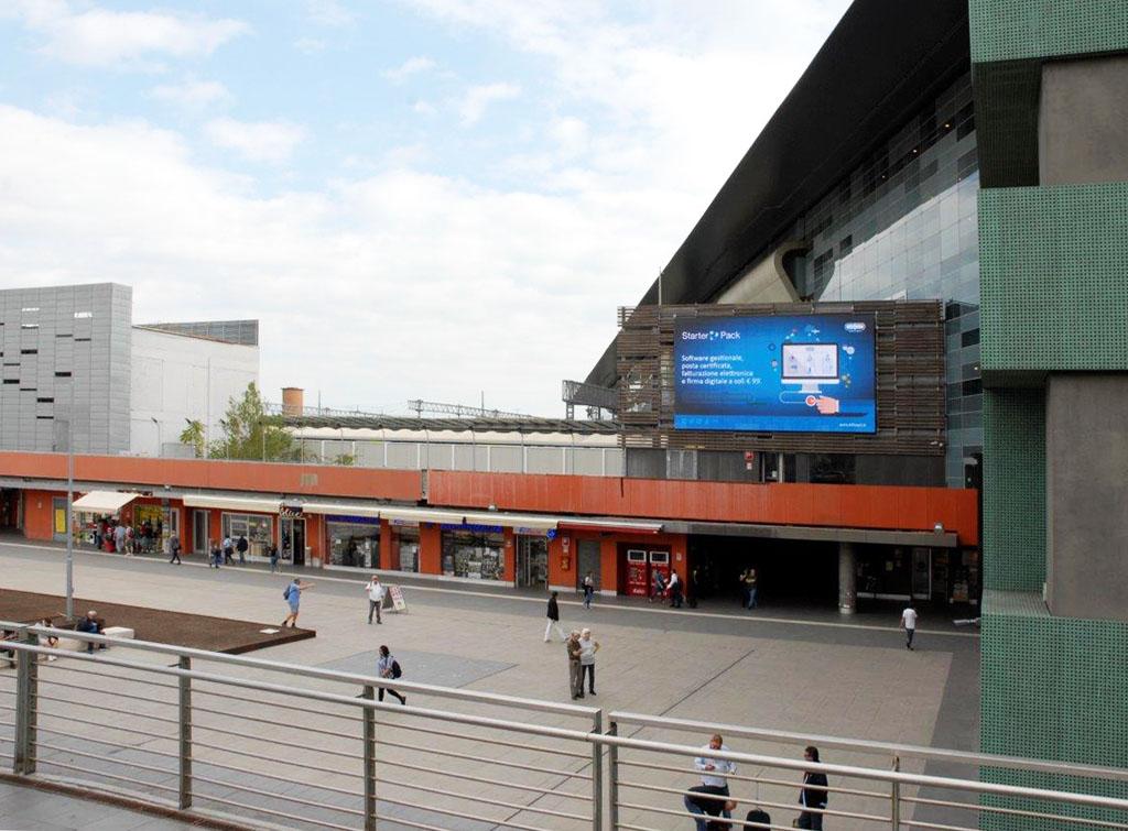 Europe Media Impianti Pubblicitari e Pubblicità all'interno delle Grandi Stazioni Ferroviarie Roma Tiburtina