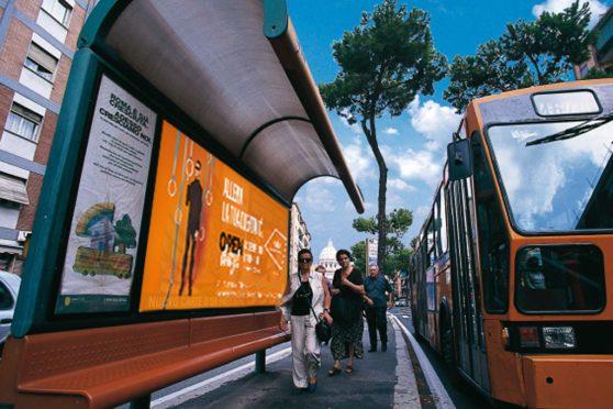Europe Media impianti pubblicitari pensiline bus