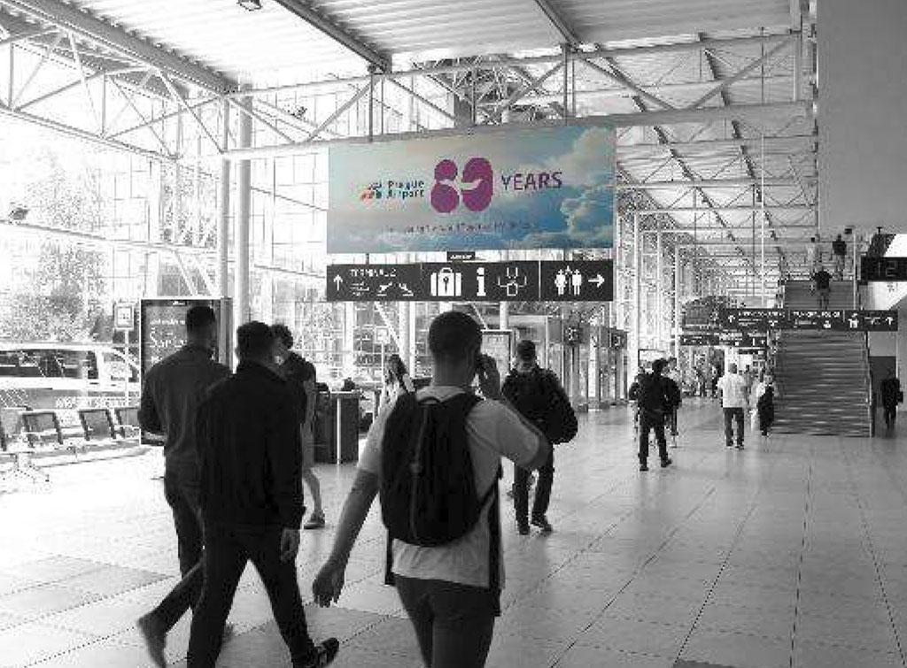 Europe Media Impianti Pubblicitari Aeroporto Praga