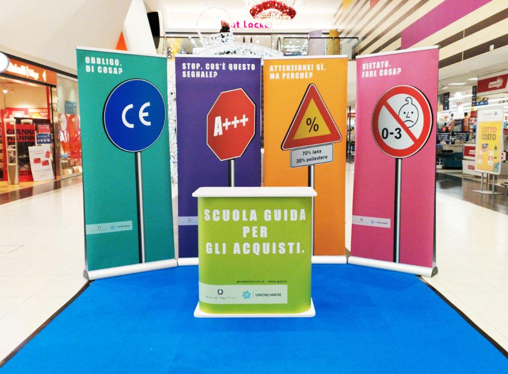 Europe Media Pubblicità nei Centri Commerciali Aree Espositive Engagement