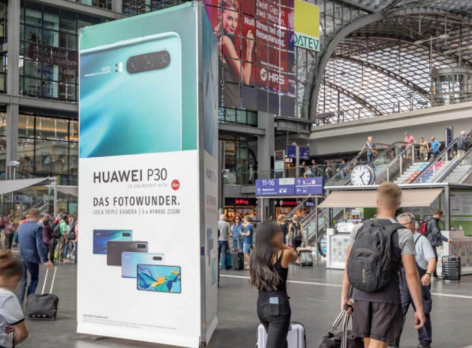 Impianti Pubblicitari in Germania Stazioni Ferroviarie Totem