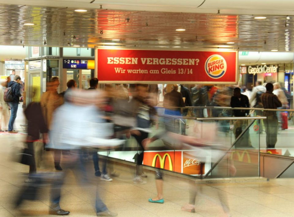 Impianti Pubblicitari in Germania Stazioni Ferroviarie banner orizzontali