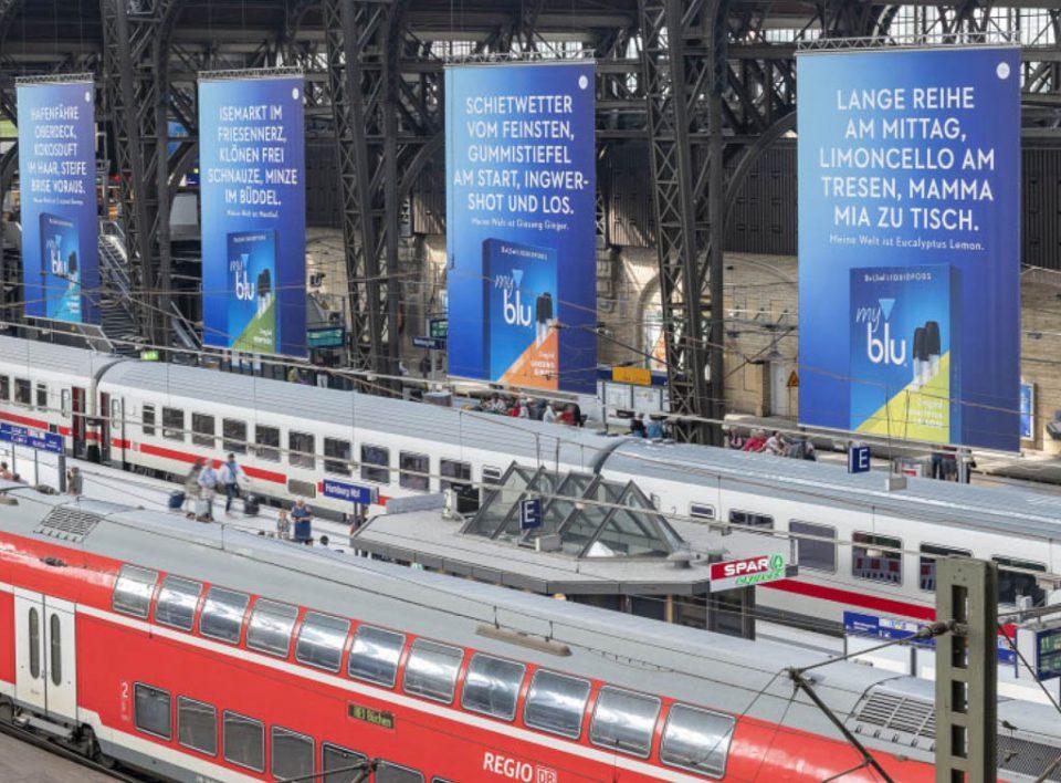 Impianti Pubblicitari in Germania Stazioni Ferroviarie Big Banner