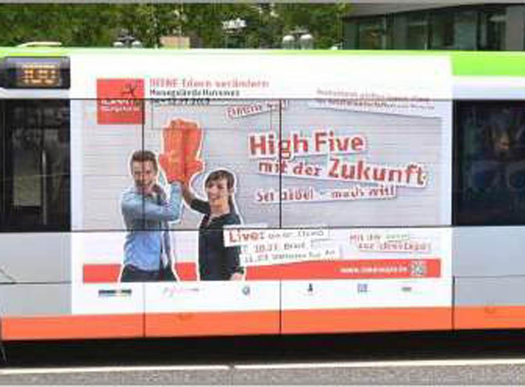 Impianti Pubblicitari in Germania Dinamica Metro