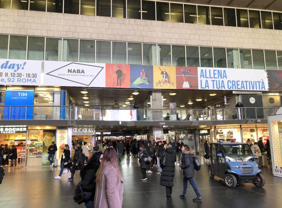 Impianti Pubblicitari nelle Grandi Stazioni Ferroviarie Roma - Maxi Poster e Digital Led