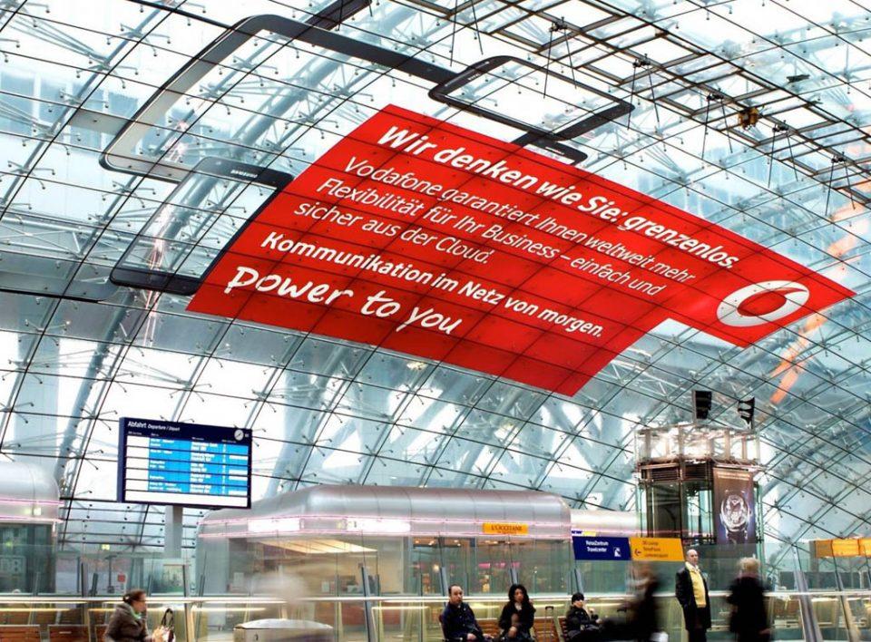 Impianti Pubblicitari in Germania Stazioni Ferroviarie maxi formati fogli
