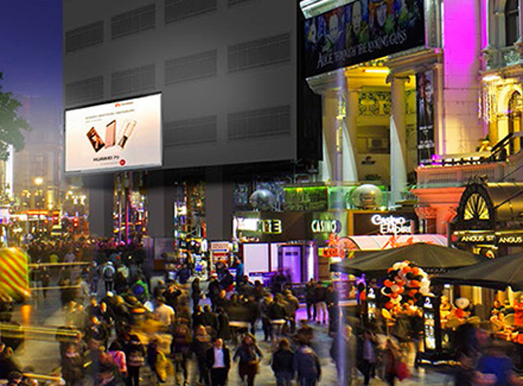 Europe Media Impianti Pubblicitari Digital Led Wall Londra