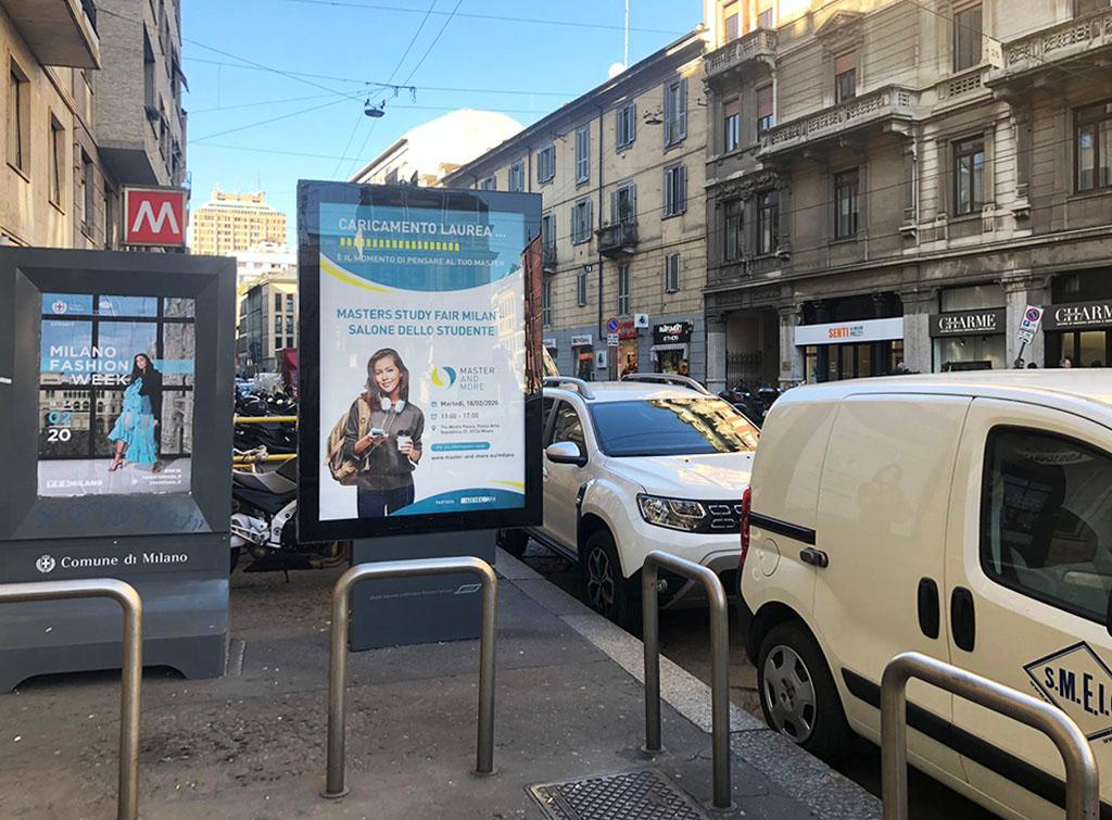 Europe Media impianti pubblicitari arredo urbano FSU