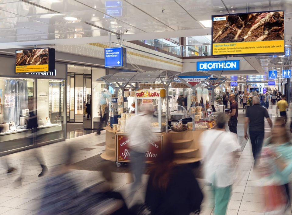 Impianti Pubblicitari Centri Commerciali in Germania