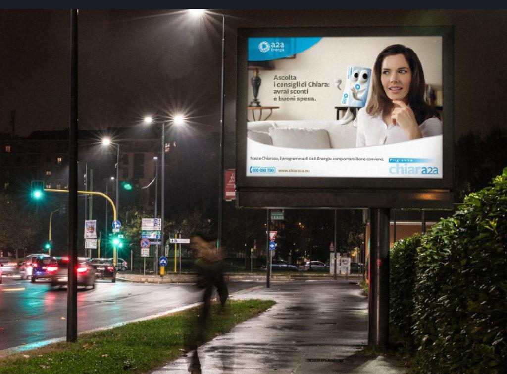 Europe Media impianti pubblicitari 8mq LUX