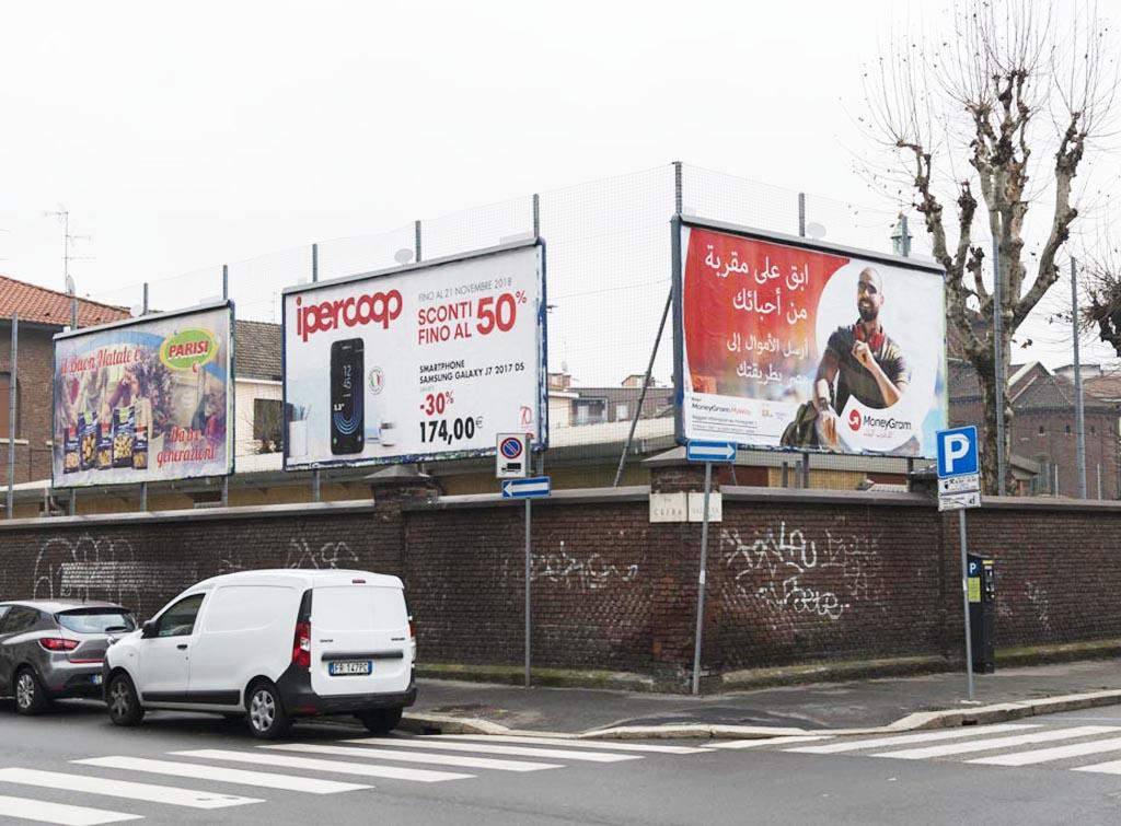 Europe Media Impianti Pubblicitari Poster 6x3 Milano