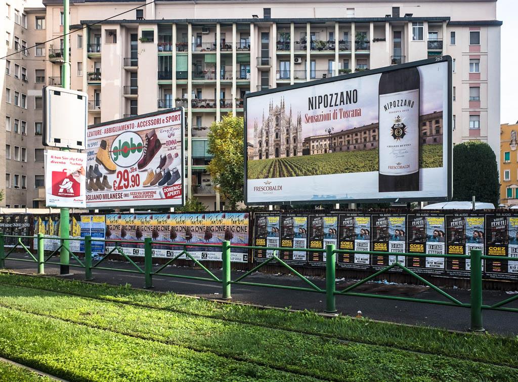 EuropeMedia Impianti Pubblicitari Poster 6x3 Milano